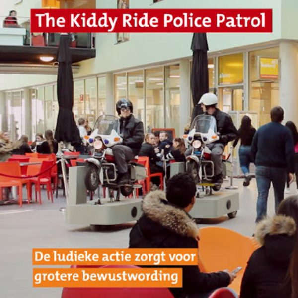 The Kiddy Ride Police Patrol